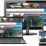 شهرداری گهرو - طراحی سایت شرکت ویستا